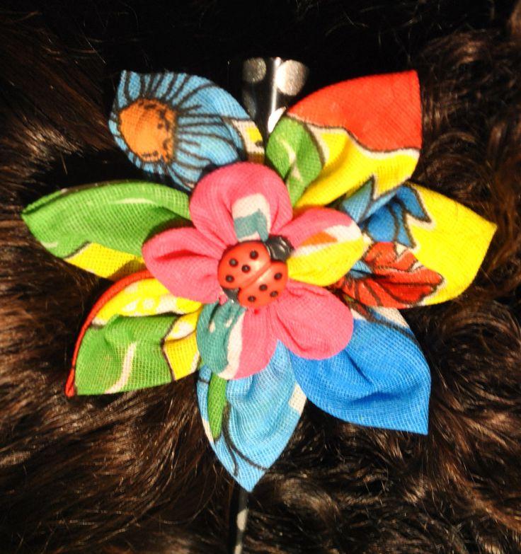 Flower on my baby head