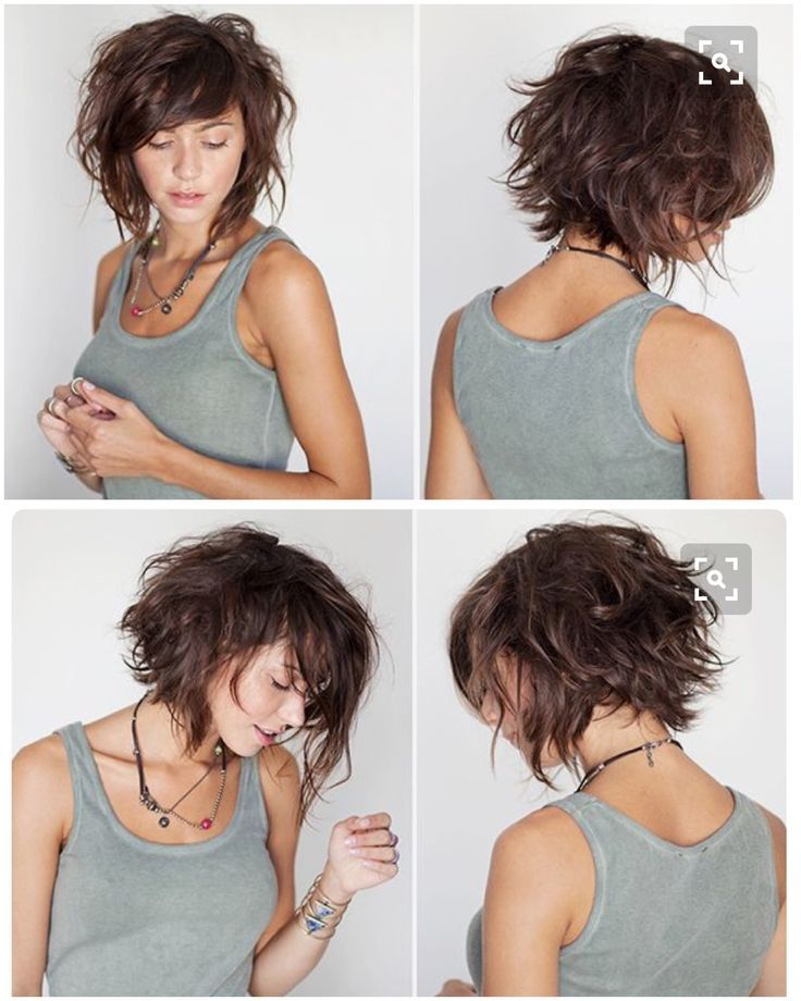 Image result for med thick angled bob