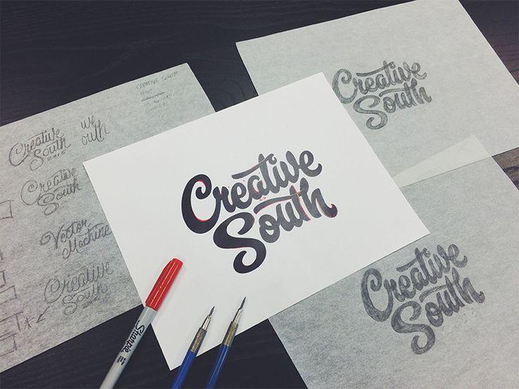 Creative South T-shirt Process by Bob Ewing