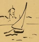 Edrilici. Henri Matisse. Harbor at Collioure (Port de Collioure). (1907)