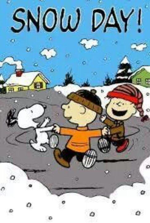 Snoopy..snow day