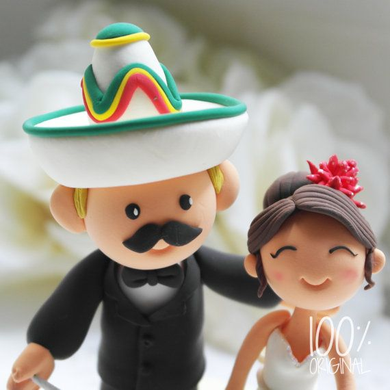 hispanic wedding cake toppers custom cake topper mexican theme ha 15250