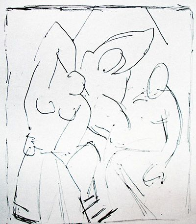 an analysis of the painting les demoiselles davignon by pablo picasso A summary of analytical cubism in 's pablo picasso les demoiselles d'avignon analytical cubism and cézanne is clear in picasso's paintings from the.