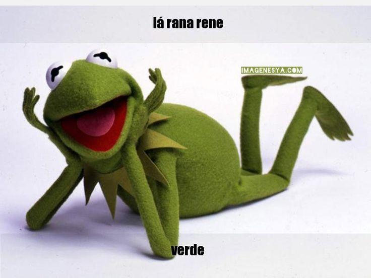 Crear Frases Con La Rana Rene | Creador de Memes Online