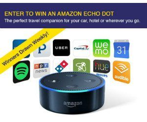 Sonyas Happenings ~ Would you like to #win an Echo Dot? This Fox Rent A Car #Sweepstakes Ends 1-15