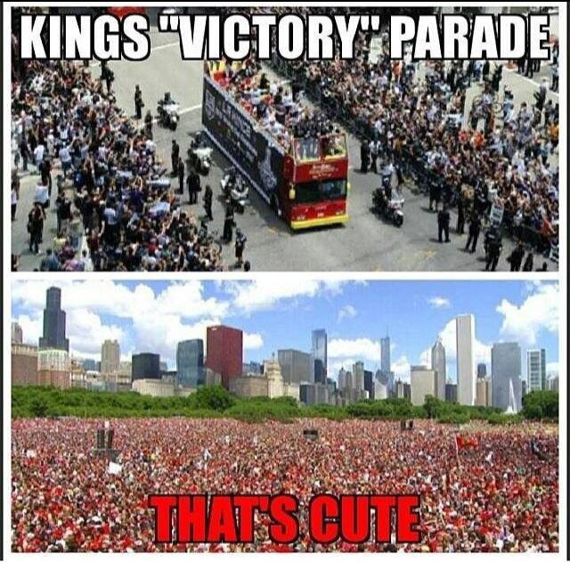 No one does it like the Blackhawks. We put on for our city!