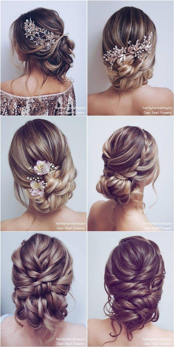 Coiffures de mariage longues et Updos de Hair By Hannah Taylor