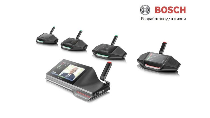 Картинки по запросу Bosch Security - DICENTIS Conference System with OMNEO on board