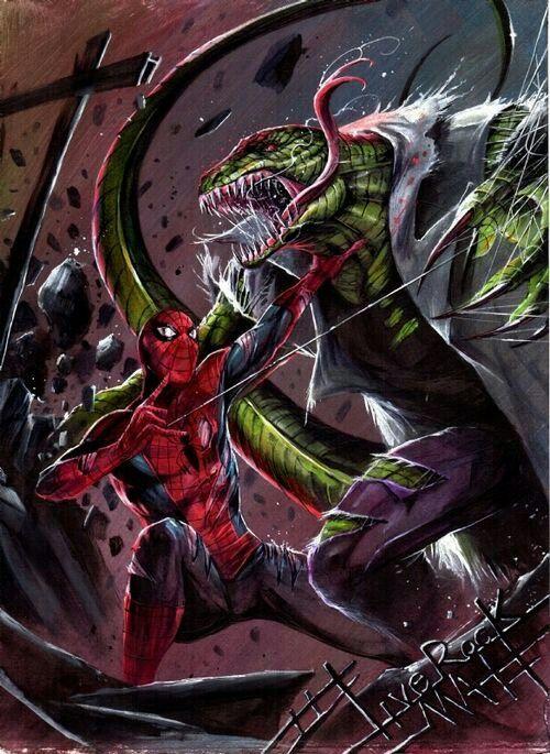Homem-Aranha vs. Lagarto