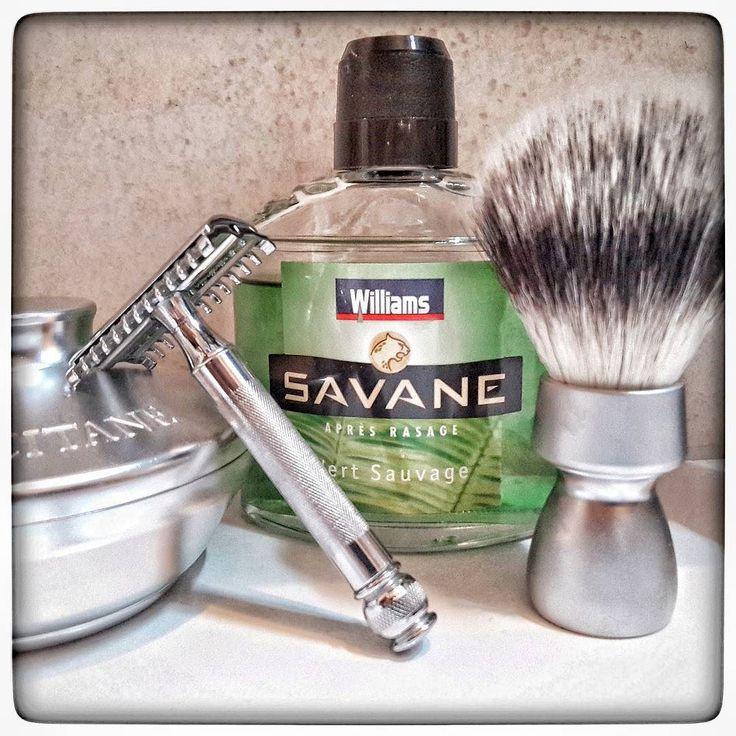 February 12th 2017 - Shave of the day  #Gillette 1930 Tech The New (UK)  #Gillette #Bleue #Extra blades (FR)  #Williams #Savane #aftershave (FR)  #Dawey #vegan #synthetic brush (FR)  #lOccitane shaving soap (FR)  #shavelikeaman #shavingculture #thebigshave #sotd #classicshave #derazor #vintageshave #wetshaving #worldshave #safetyrazor #instashave #italianwetshavers #vintageshave #rasaturatradizionale #vintage