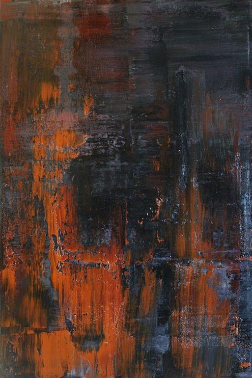 "Saatchi Online Artist: Koen Lybaert; Oil, 2013, Painting ""abstract N° 652"""