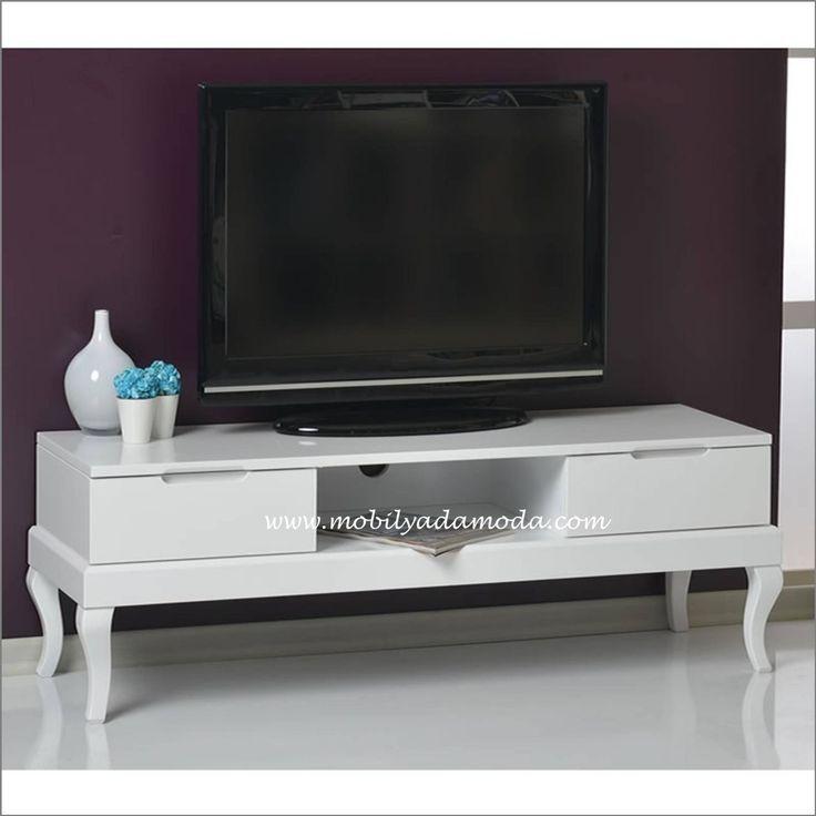Lukens Ayak Tv Sehpası, Dekorasyonunuzun Tamamlayıcısı Olacak...  http://www.mobilyadamoda.com/Lukens-Tv-Sehpasi-Beyaz,PR-507.html