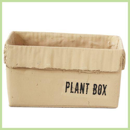 cardboardboxplumter【ガーデニング/鉢/鉢カバー/おしゃれ/インテリア】