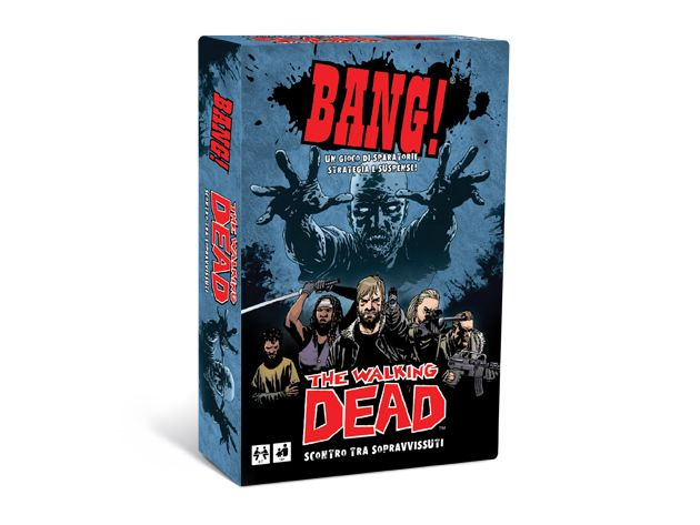 BANG! The Walking Dead | dV GIOCHI - Giochi di carte, Giochi di società, Giochi in scatola, Giochi da tavolo