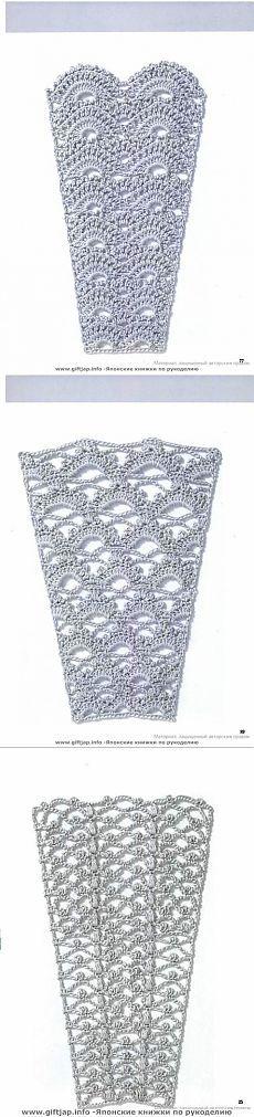Платье девочки схемы юбок крючком