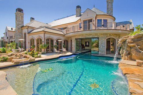 A swim-thru house!