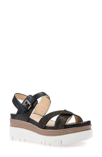 37123a4bd5d GEOX RADWA PLATFORM SANDAL.  geox  shoes