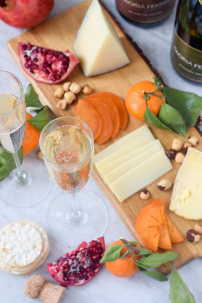 How to create the ultimate winter cheese plate and pair it with sparkling wine.