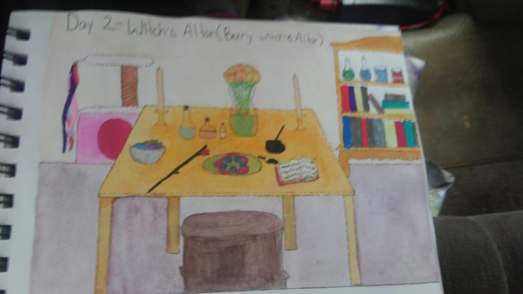 #modernwitchesdaily Witches altar!