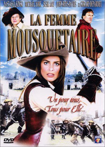 LA FEMME MOUSQUETAIRE (Steve Boyum, 2004) Mediocre television production, performed clumsily, and with a bad script, which fail to raise the professionalism of the cast, with Michael York, in his classic role of D'Artagnan, Gerard Depardieu, playing Cardinal Mazarin, Nastassja Kinski who plays Lady Bolton, and the beauty of Susie Amy, who plays Valentine, the daughter of D'Artagnan.