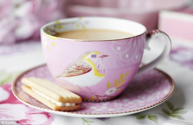 A nice cup of Rosy Lee: Scientists at University College London have managed to work out how to make the perfect cup of tea. Cup type, water temperature and timing are all crucial