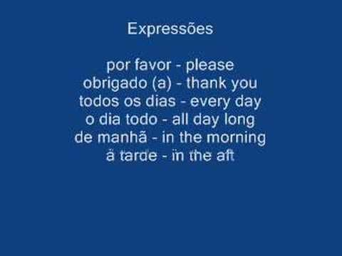Learn Portuguese in 30 Days - YouTube