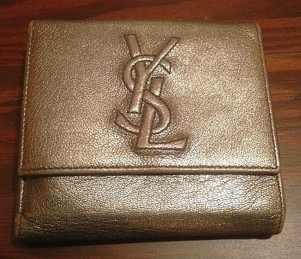 Yves Saint Laurent Wallet (YSL, Bi-Fold, Leather, Men\u0026#39;s Pre-owned ...