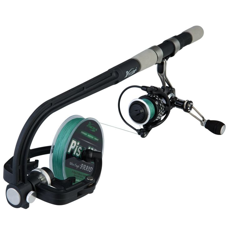 Piscifun® Professional Portable Spooling Station Fishing Reel Line Spooler and Winder -- See this great product.
