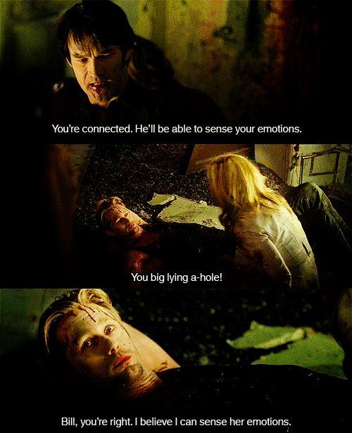 True Blood - Eric, Sookie, and Bill in Dallas.