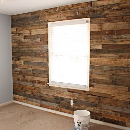 Wooden Accent Wall Back Wall Framing Window Or Entire