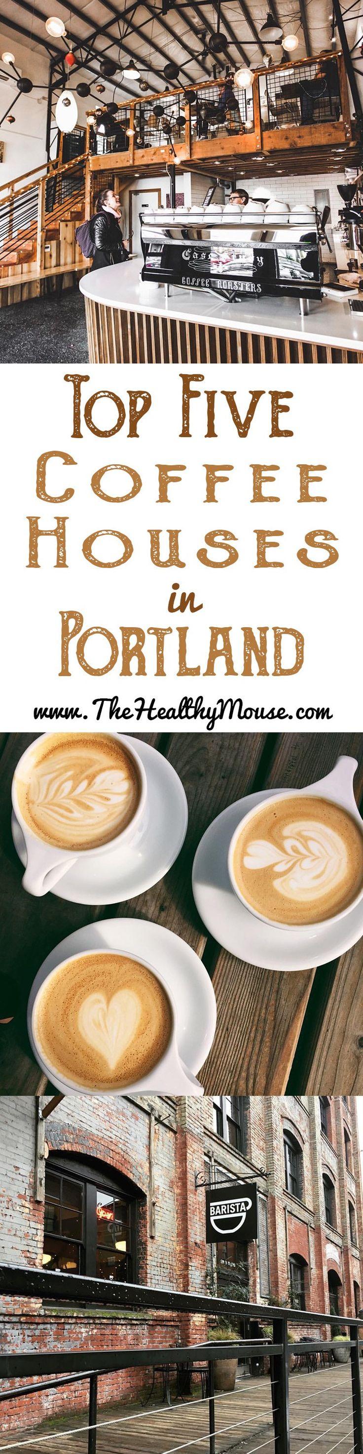 Top 5 Coffee Houses in Portland, Oregon