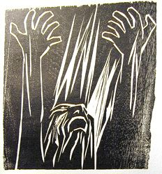 best king lear images king lear gloucester and  king lear in the storm this is a woodcut made by claire van vliet