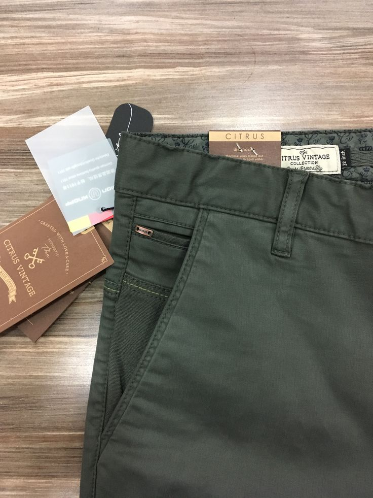 Men Trouser Detail Casual Citrus Chinos In 2019 Men Trousers