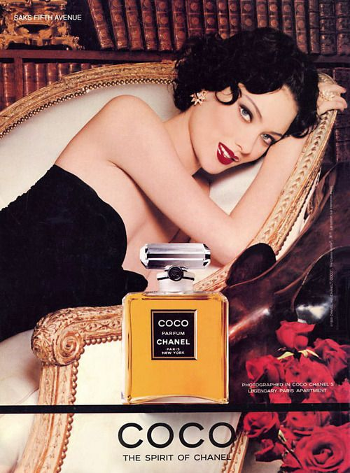 Chanel, circa mid 90s  Model: Shalom Harlow