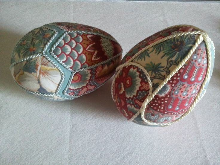 hobby e passioni racchiusi nel mio cassetto: Uova di Pasqua in patchwork - Easter eggs in patch...