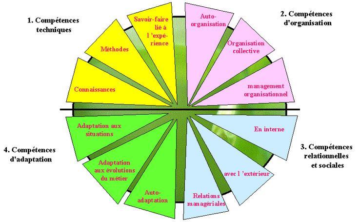 La roue des compétences