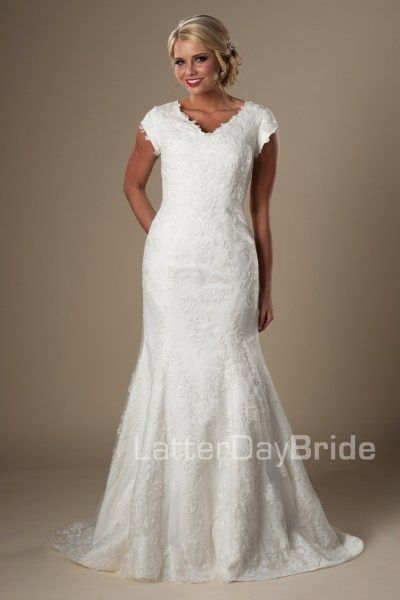 Lds Wedding Dress Stores In Utah : Best images about modest wedding dresses on