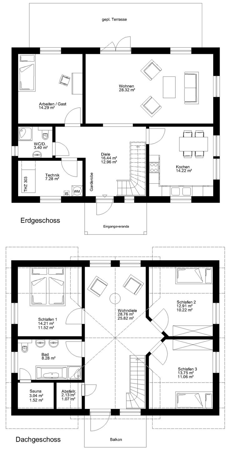 1000+ ideas about Grundriss infamilienhaus on Pinterest ... size: 736 x 1463 post ID: 9 File size: 0 B