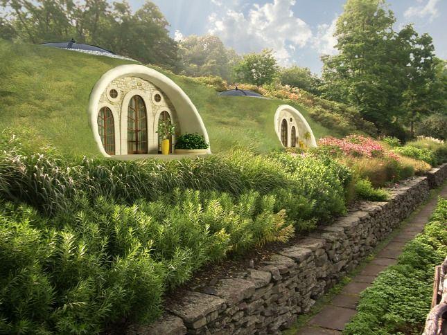 Hobbitházak a Bükkben