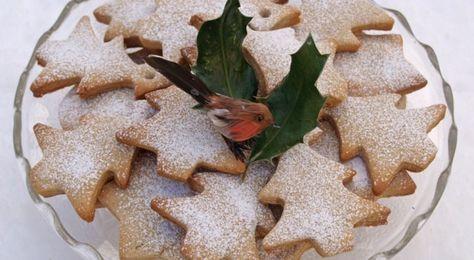 ✟: Πανεύκολα Χριστουγεννιάτικα μπισκοτάκια