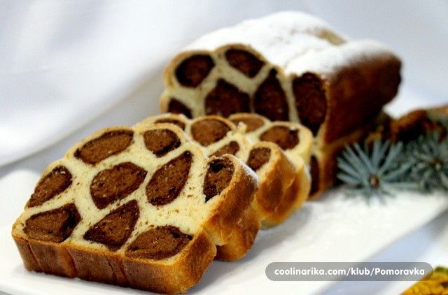 Vzhled a chuť tohoto pečiva je božská! Sladký, jemný, chutný leopard.