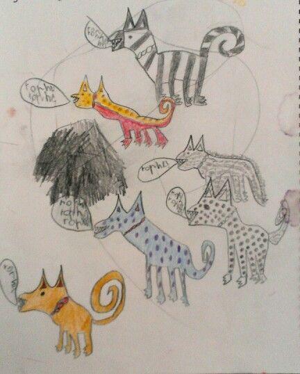 Dog Day Doodle , old work