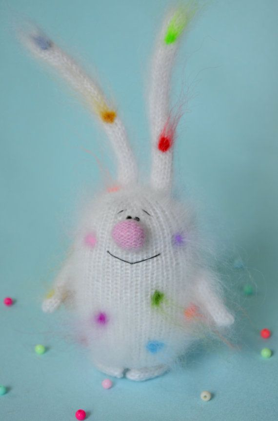 Hey, I found this really awesome Etsy listing at https://www.etsy.com/listing/456093792/bunny-coloured-polka-dots-amigurumi