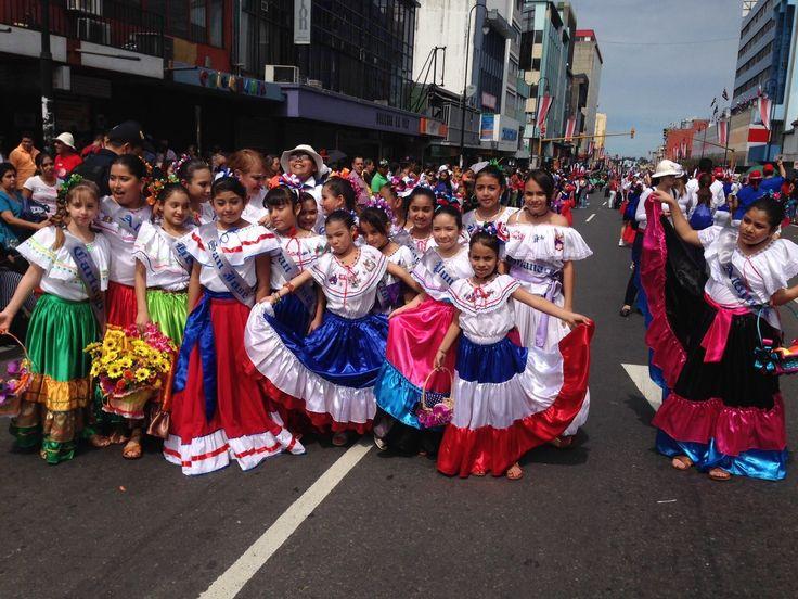 15 de Septiembre,2014 .. Feliz Dia de la Independencia Costa Rica