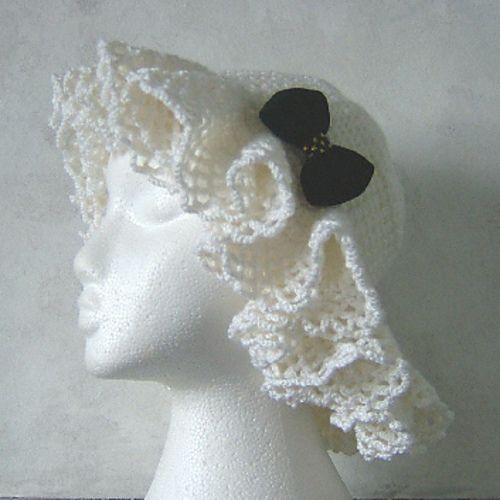 Ada - Hyperbolic crochet hat