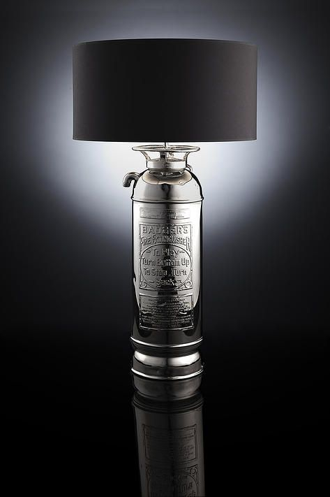 """The fire extinguisher, """"The Lancaster"""" by Lancaster Lights"""