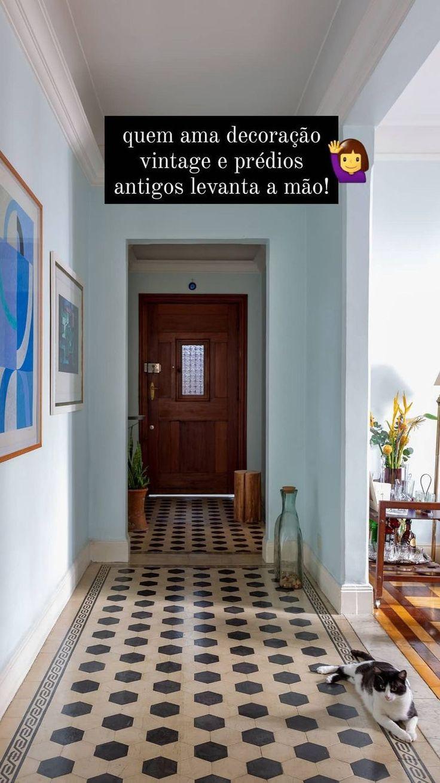 Living Spaces, Living Room, Architecture, Decoration, Vintage Decor, Furniture Decor, My House, Tile Floor, Beach House