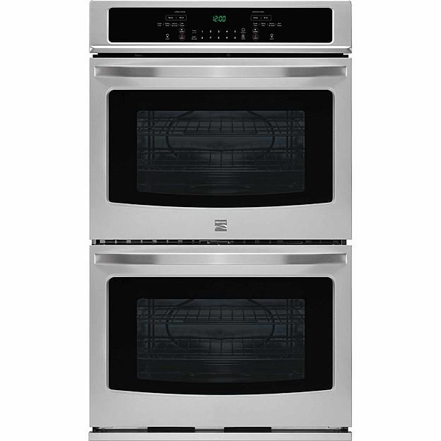 "Kenmore 49413 27"" Self-Clean Double Electric Wall Oven - Stainless Steel"