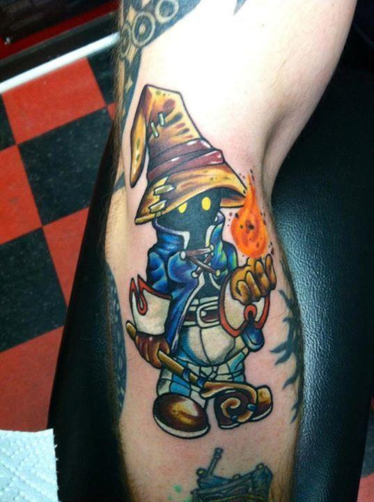 Final Fantasy tattoo.