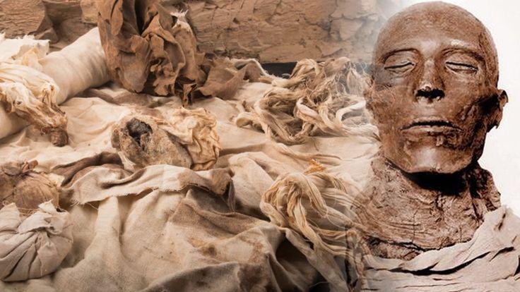 Arqueólogos hallan el corazón momificado de un alto oficial del Egipto faraónico